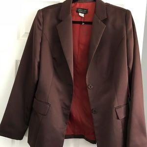 Jackets & Blazers - SPENSER JEREMY BROWN BLAZER. SIZE 16 TALL